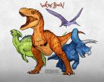 We're Back! A Dinosaur's Story by EmilyStepp