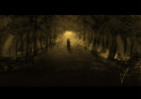 Alone in the forest by jaSz2006