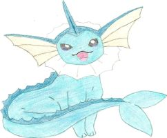 Vaporeon, first eeveelution by hellogoodbye1121