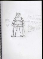 How I draw a character on a low camera angle :) by nickperriny7mai