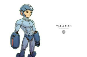 Mega Man by JakeParker