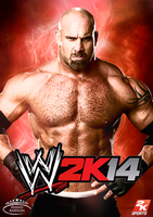 WWE 2K14 Cover f. Goldberg by MhMd-Batista