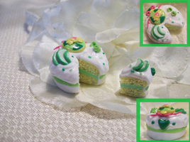 Mew Lettuce inspired cake by WaterGleam