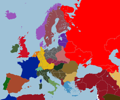 Map of Consulate Europe, 1924 by TiltschMaster