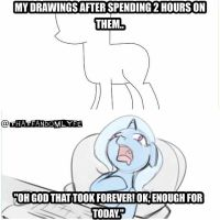 My art process... by Bow2YourWaifu