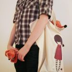 TORN - full size Tote Bag by gorjuss