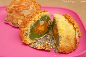 Cheese mooncake by patchow