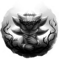 I meet my fate in the crown of thorns. by KetLike