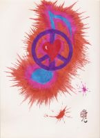 Peace Love and Music by jstillwagner