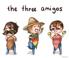 Three Amigos by xlolfishx