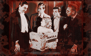 Lugosi and cast - Dracula 1931 by DarkSaxeBleu