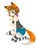 Fox Girl by kelala12980