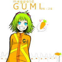 Happy BELATED B'day GUMI by mintoreto