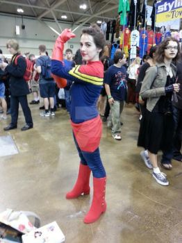 Captain Marvel Cosplay by TheSwearingMime