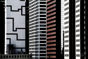 Lines in NYC by RHARIZONA