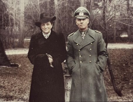Erwin Rommel with his wife by Julia-Koterias