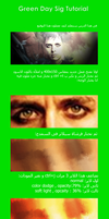 Green Day Sig Tut _Arabic by Agent-Z7