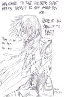 Lightning on the Soldier Side - sketch by Narsilia