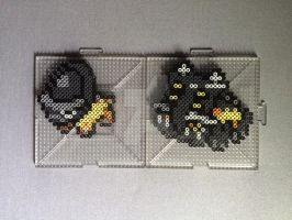 #410-#411 Shieldon and Bastiodon Perlers