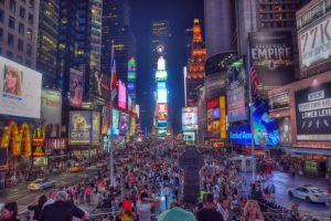Times Square HDR by squarepush