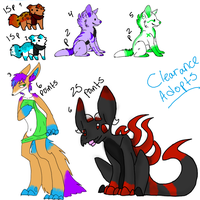 Clearance CLOSED by Fluffbutt-Adopts