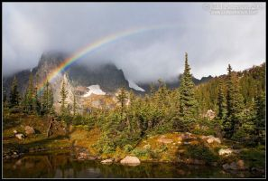 Alpine Rainbow by juddpatterson