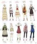 Various female clothes 7 by meago