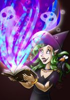 [Collab] Tome of Spells and Sparkles by hooksnfangs