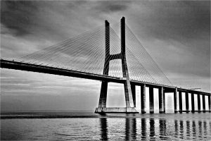 Vasco da Gama Bridge by phil--astori