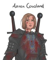 Aaren Cousland by Draagonfly
