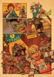Tank Girl : the Runny Man Pg.8 by blitzcadet
