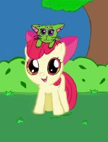 Applebloom finished by Awesomesaucical