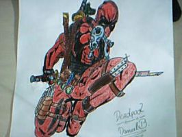 Deadpool by Milky-Operation