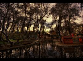 A Walk in the Park by ISIK5
