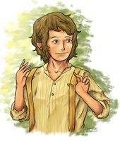 Bilbo Baggins by Chere-and-Rose