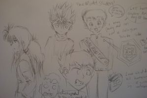 YYH doodles by Highway3