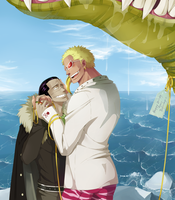 Birthday gift for Doflamingo by Sad-SD