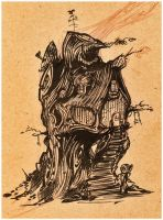 Stump House by artobot