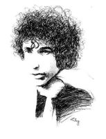 Bob Dylan by lily-fox