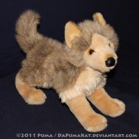 Douglas - Tyson the Wolf plush by dapumakat