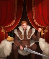 King Alistair Theirin by SecretMage