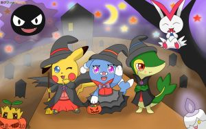 Halloween time by DinoFlash