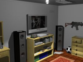 My Room V2 by marvnation