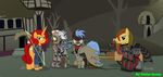 Fallout Equestria Team AnY by Vector-Brony