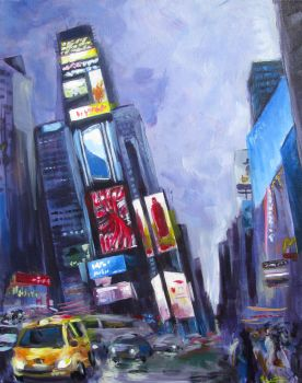 New York at Night by Vuel