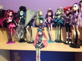 Monster High Collection by Pink-chi