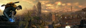 inFAMOUS 2 Panorama by Requium-for-Kira