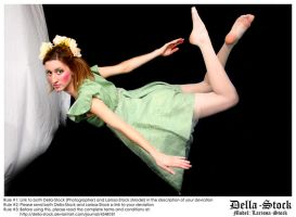 Flying Fraulein Fairy.4 by Della-Stock