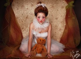 Porcelain doll by Voodica