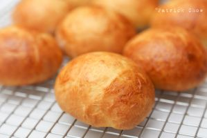 Sweet potato buns by patchow